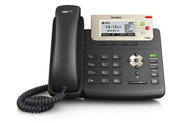 TELEFONO YEALINK T23G GIGABYTE